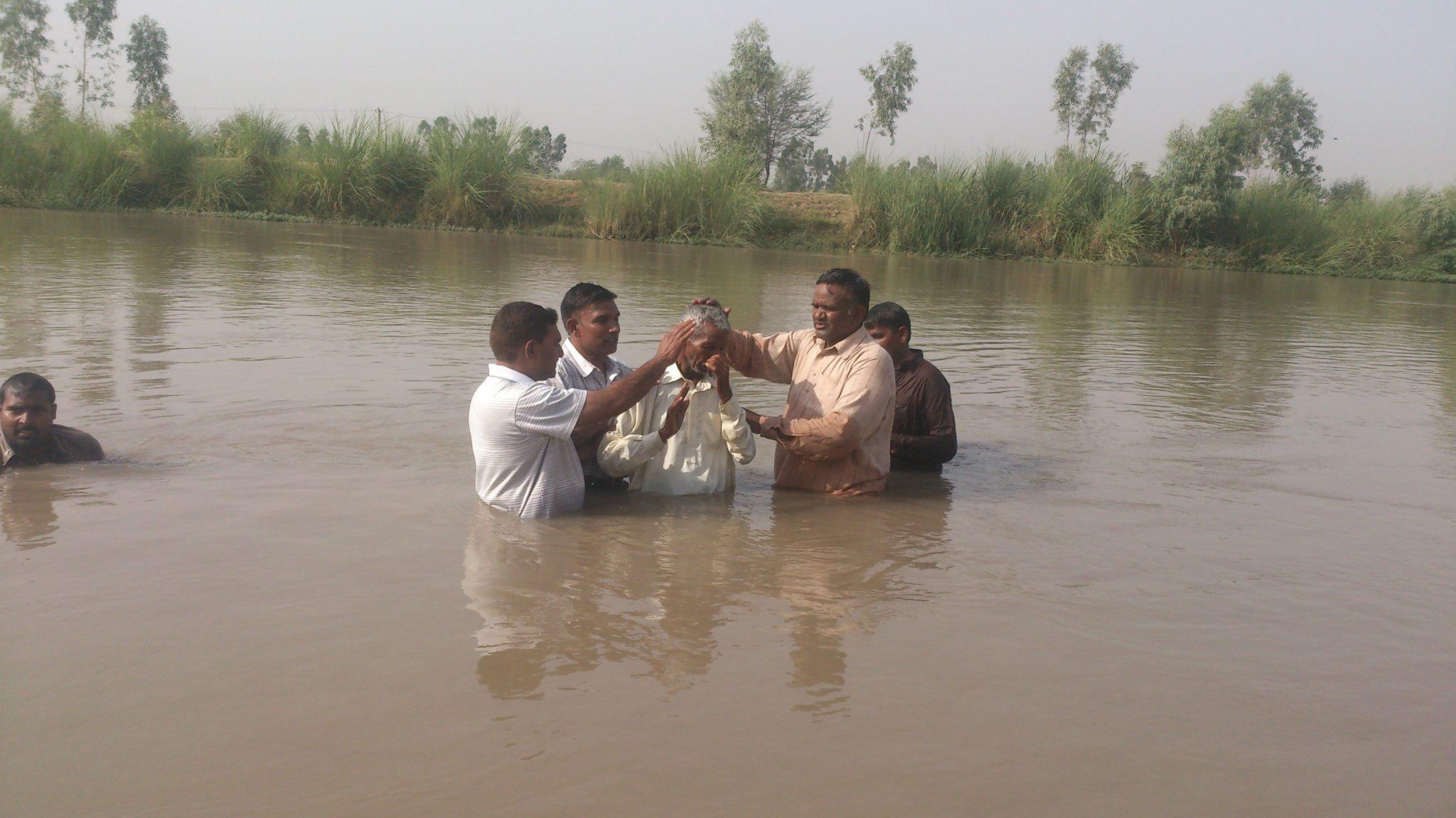 Baptism - IEM Pakistan