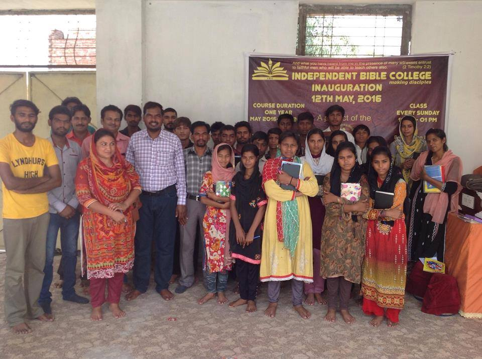 Sunday School Ministry - Independent Evangelical Ministries in Pakistan