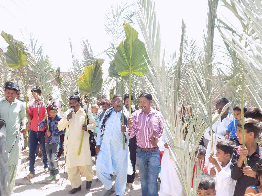 Palm Sunday - Independent Evangelical Ministries in Pakistan