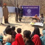 Portable Primary School By Independent Evangelical Ministries in Pakistan